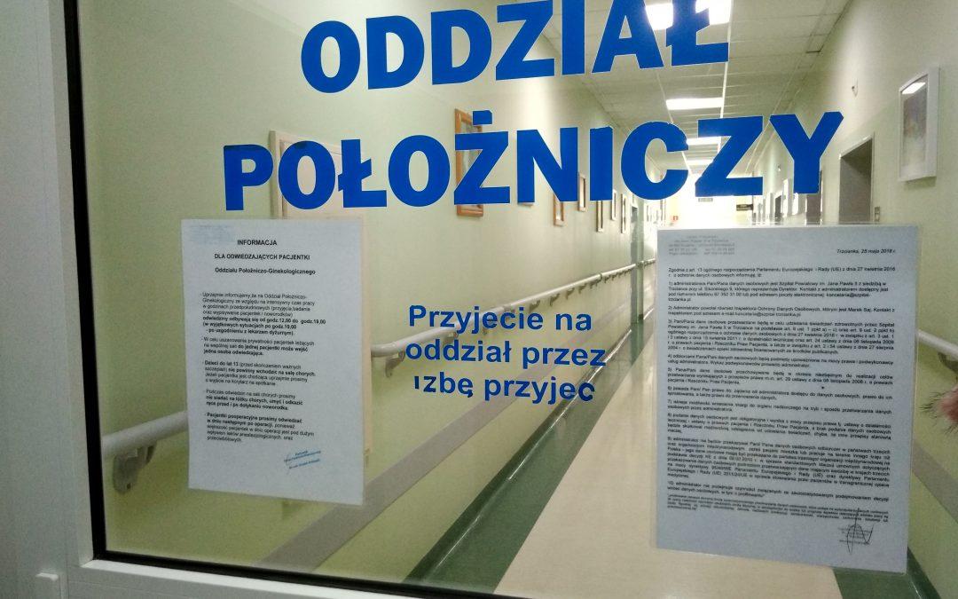 Szpital Powiatowy im. Jana Pawła II w Trzciance wybrany jako najlepsza porodówka w Wielkopolsce
